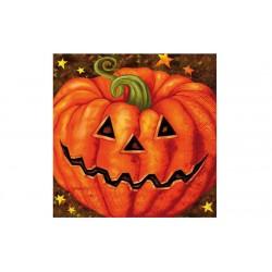Servilletas calabaza halloween 20 uds de 33x33 cm