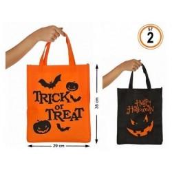 Bolsa o cesto recogecaramelos para halloween