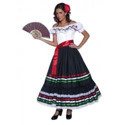 Disfraz Mejicana para mujer tallas catrina