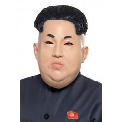Mascara dictador norcoreano Kin Jong Un