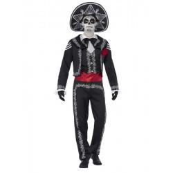 Disfraz catrin mariachi esqueleto mejicano hombre