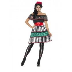 Disfraz Mejicana catrina mujer halloween