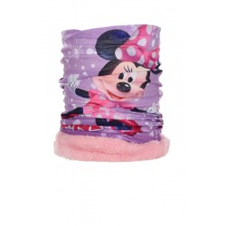 Braga cuello polar minnie mouse rosa