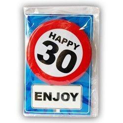 Postal o tarjeta 30 cumpleaños