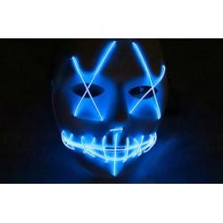 Mascara con luz led azul similar la Purga