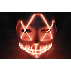 Mascara con luz led naranja similar la Purga