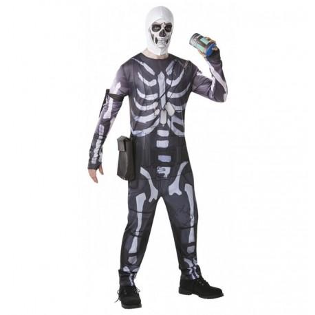 Disfraz Skull Trooper Fornite talla L adulto