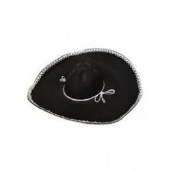 Sombrero Mejicano negro mariachi mexicano