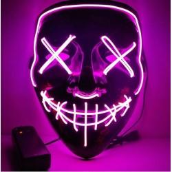 Mascara led rosa la purga negra