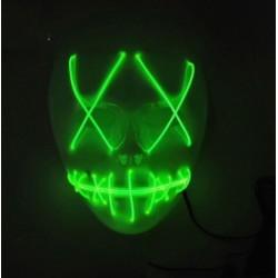 Mascara led verde la purga negra