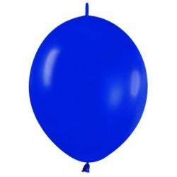 Globo Link O Loon 12 Azul rey Sempertex 25 uds 30 cm cadena