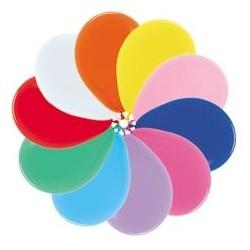 Globo Sempertex 18 45 cm colores surtidos 6 uds