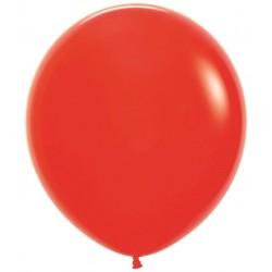Globo Sempertex 18 45 cm Rojo 6 uds