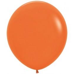 Globo Sempertex 18 45 cm Naranja 6 uds