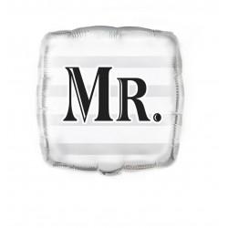 Globo boda Mr 45 cm para helio o aire