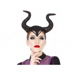 Diadema cuernos malefica demonia