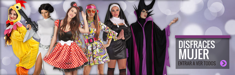 Disfraces Baratos Carnaval para Mujer