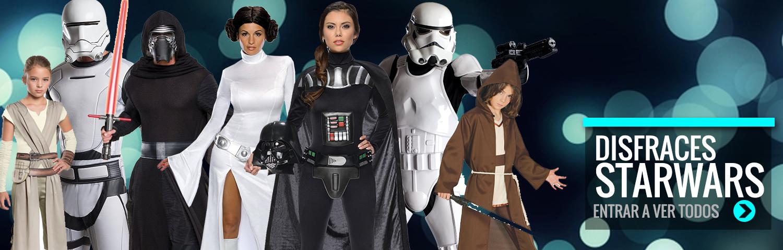 Disfraces baratos star wars