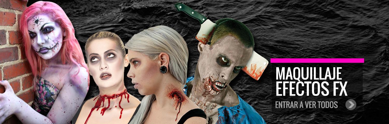 Maquillaje y efectos especiales para Halloween