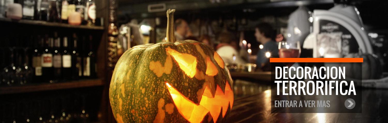 Decoración barata para fiesta de Halloween