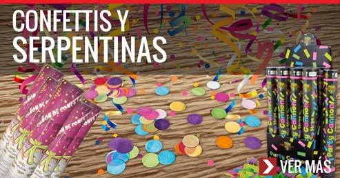 Confetis y Serpentinas