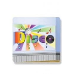 POSTER DISCO DECORACION PARED 75X150 CM