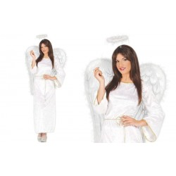 DISFRAZ ANGEL BLANCO ADULTO TALLA XL 46 48