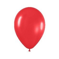 GLOBO ROJO R9 225 CM FASHION SOLIDO LATEX 50 UNID
