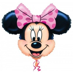 GLOBO FOIL MINNIE MOUSE CABEZA DISNEY