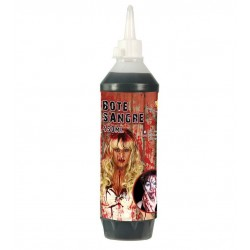 BOTELLA DE SANGRE 450 ML ARTIFICIAL HALLOWEEN