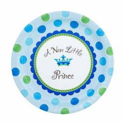 PLATOS 27 CM ES UN NINO LITTLE PRINCE BABY SHOWER