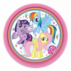 PLATOS MY LITTLE PONY 23 CM GRANDES
