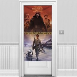 DECORACION PARED PUERTA STAR WARS