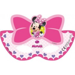 MASCARA MINNIE MOUSE 6 UNIDADES CUMPLEA