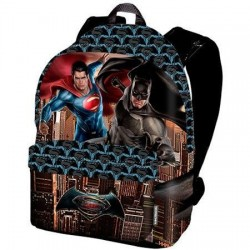 Mochila batman vs superman 41 cm tamaño: 35x41x13