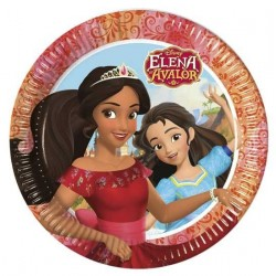 PLATOS ELENA DE AVALOR 23 CM 8 UNDS