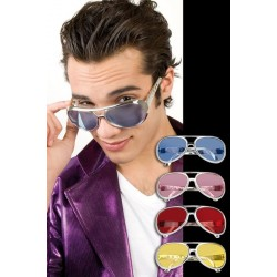 GAFAS ROCK AND ROLL DE COLORES ELVIS UNIDAD