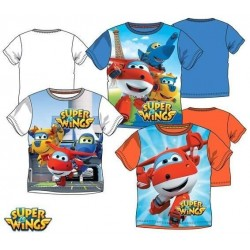 CAMISETA MANGA CORTA SUPER WINGS TALLAS INFANTIL