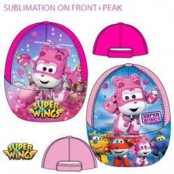 GORRA SOL SUPER WINGS ROSA O FUCSIA
