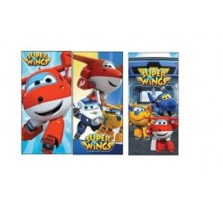 TOALLA PLAYA SUPER WINGS 2 MODELOS JETT NINO