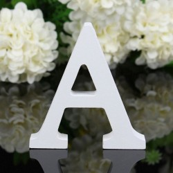 LETRAS EN MADERA COLOR BLANCO 11 CM