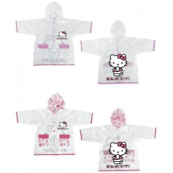 CHUBASQUERO HELLO KITTY IMPERMEABLE TRANSPARENTE