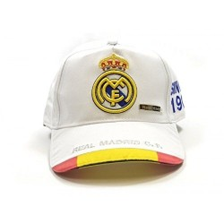 GORRA REAL MADRID BANDERA ESPANA ADULTO
