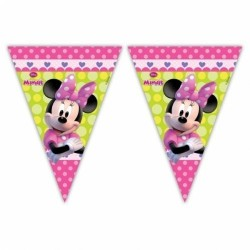 BANDERIN TRIANGULAR MINNIE MOUSE 230 CM