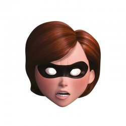 Careta Mrs Increible Hellen Parr de los Increibles carton