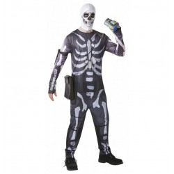 Disfraz Skull Trooper Fornite talla L adulto