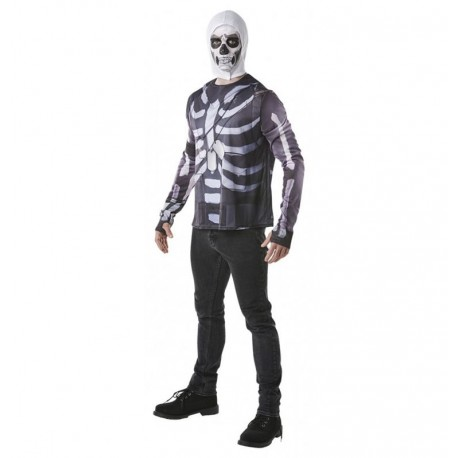 Camiseta Skull Trooper de Fornite adulto talla L