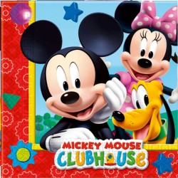 SERVILLETAS MICKEY PLAYFUL 20 UNID 33 X 33 CM